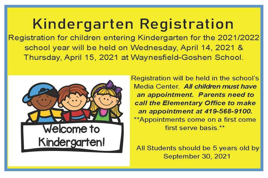 Kdg Registration Ad